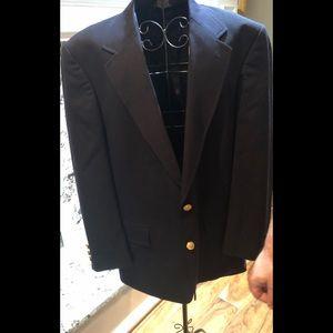 Navy Brooks Brothers Men's Sports Jacket